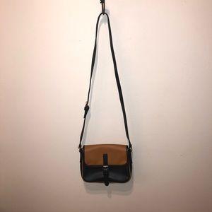 Brown & Black Cynthia Rowley Crossbody Bag